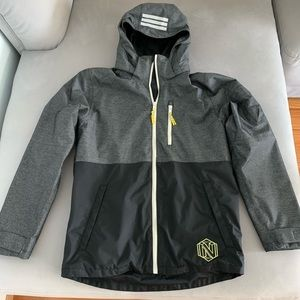 Boys water resistance and wind proof jacket.